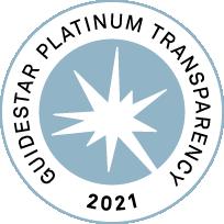 Guidestar Platinum Transparency Award for 2021